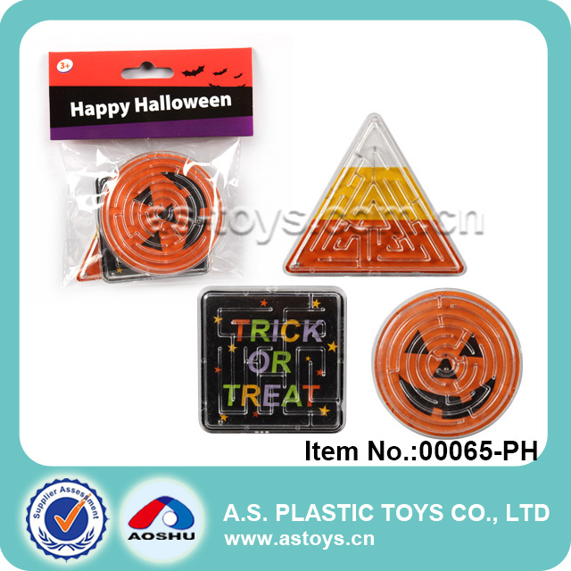 Halloween party items carzy mini maze ball