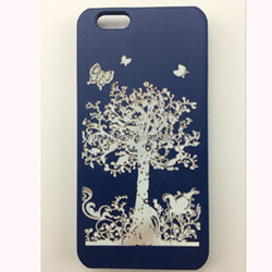 mobile phone spare parts wooden case for iphone7
