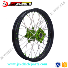 18/19 Inch Motorcycle Aftermarket Rear Alloy Wire wheels with Aluminum hubs