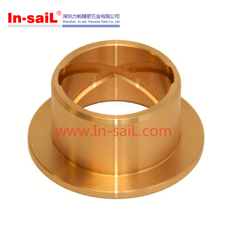 China supplier OEM CNC machining service precision brass copper bronze bushing manufacturer