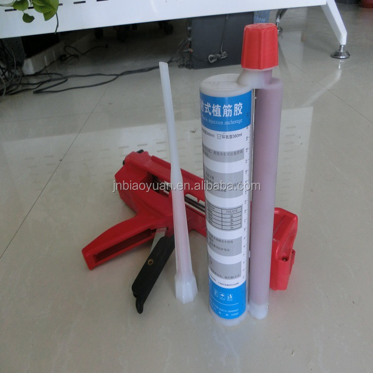 building bonded steel bar glue chemical anchor injection adhesive
