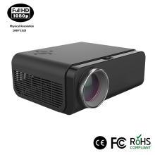 Hot wholesale short throw full hd portable projector 1080p