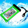 Floating waterproof dry case for iphone with earbuds