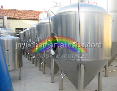 Brewery 2000L for beer plant, conical fermenter tank