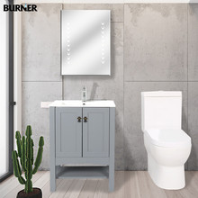 HF-S005 Hot sale MDF bathroom sink cabinet with mirror