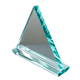 Programming Blank triangle clear Glass crystal shields Awards Trophy Plaque Gifts Souvenir
