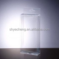 eco friendly custom printing fashion clear empty pvc candy boxes