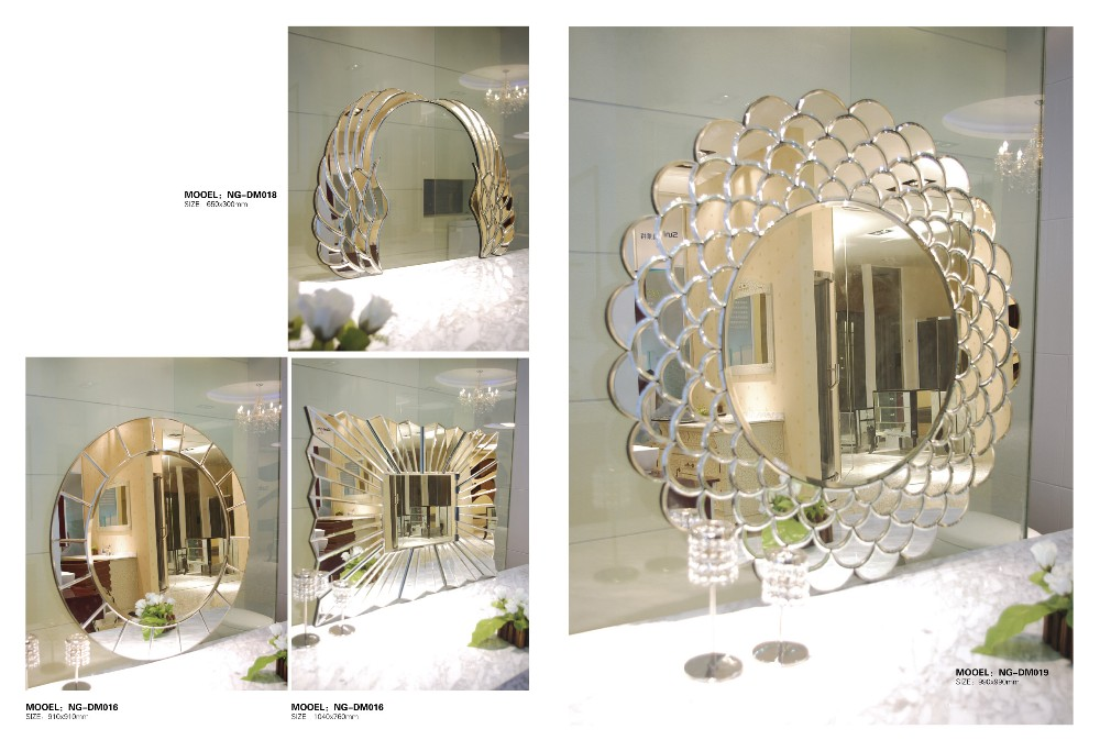 Decorative Wall Mirrors, High Quality Villadom and Bathroomm Mirror