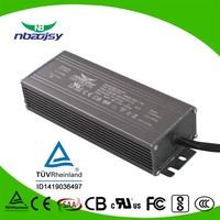 non-flicker bipolar power supply for led lighting