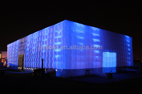 custom made inflatable party cube tent marquees for sale