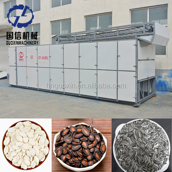 2-4t / day capacity continuous type melon seeds box type dryer