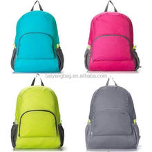 Travel Backpack Nylon Leisure Bags Schoolbag Rucksack Foldable