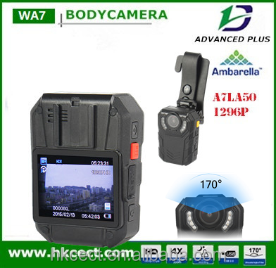 Police Camera Security Recorder Personal Body Guard 32MP With 3800mAh Power Bank Supports JPEG Photo and AVI Video