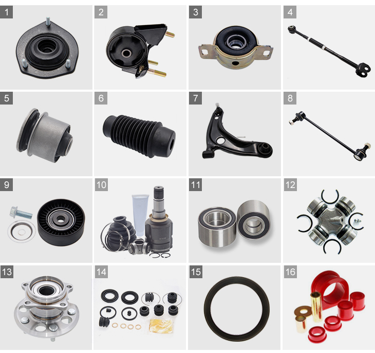 shock absorbers for korean auto,strut mount supplier for Toyota