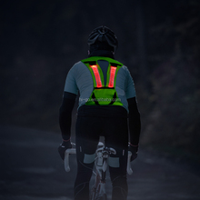new products 2017 innovative product <strong>safety</strong> LED light bicycle vest reflective