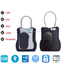 electronic GSM remote control padlock with GPS tracking for truck/container/trail logistic