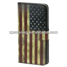Restore Flag leather case cover for Samsung Galaxy S5 i9600