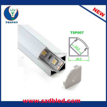 Manufacturers Led Light Bar corner lighting L shape aluminum profile