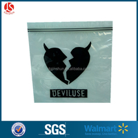 Customized ziplock stand up kraft paper bag with logo printing