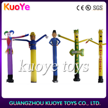 Wholesale advertising mini inflatable sky air dancer dancing man with blower