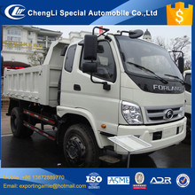 Chinese professional manufacturer supply 5 ton foton 4x4 mini dump truck for sale