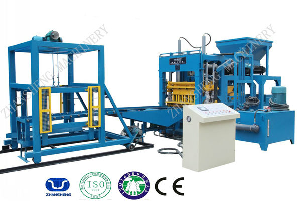 Brick Making Machine Hydraulic Pressure Method Paver Block Making Machine Line