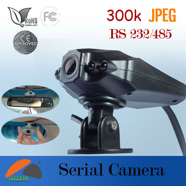 Taxi Truck Jeep Car Bus Security Jpeg Mini Serial Port RS232 Camera