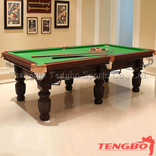 Economic 8ft MDF billiard table,classic type 3 cushion billiard table on sale