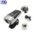 Powerful 3W LED Bike Light Set Water Resistant Bicycle Headlight USB Rechargeable bike lights