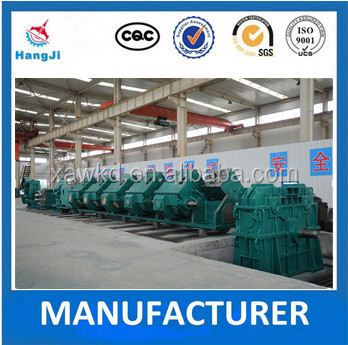 High quality straight seam welded tube Mill line