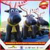 Customized Lovely inflatable christmas deer cheap on sale