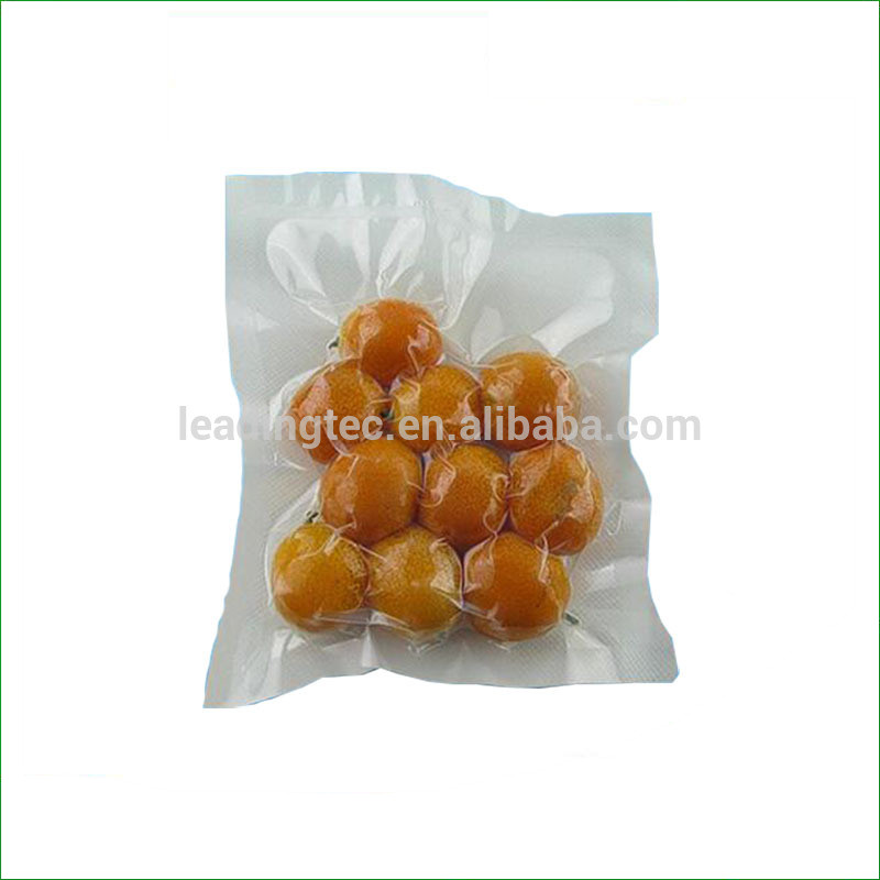 China supplier cheap price frozen food grade plastic preservation vacuum bag vacuum embossed bag for frozen food