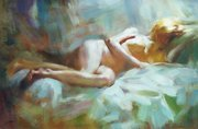 Female Nude Reproduce Oil Painting