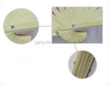 Chinese silk fabric dancing fan with 5colors available