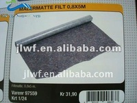 polyester fiber felt with anti slip backing
