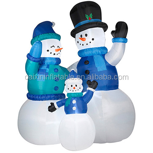Giant 12 Foot Snowman Christmas Inflatable