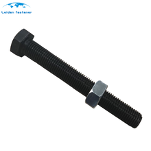 high strength iso4014 half thread m8 m10 m12 m14 m16 din933 bolts