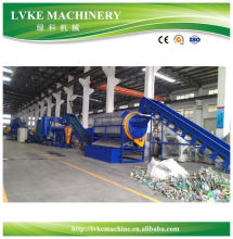 LVKE PET plastic bottle washing recycling line machine for Sao Tome and Principe