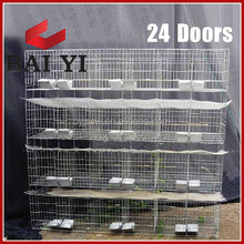 3 Storey Welded Rabbit Cage Hutch