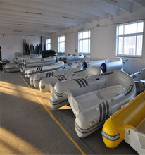China Supply Fiberglass RIB Inflatable Boat with Cheap Price