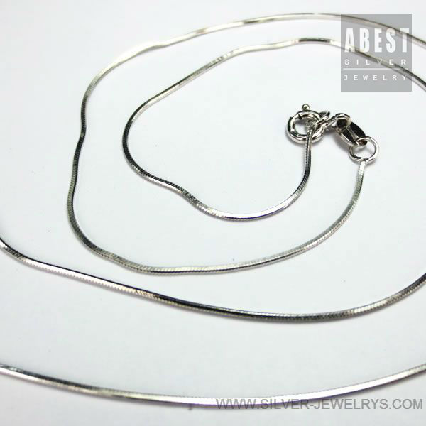 Silver Jewelry Supplies 925 Silver Chain