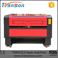 TSH1512 metal non-metal co2 laser cutting machine for mdf
