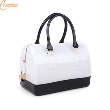 Candy Color summer fashion women shopping tote bag
