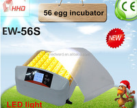 HHD best quality high hatching ability poultry egg incubator for sale with CE approved