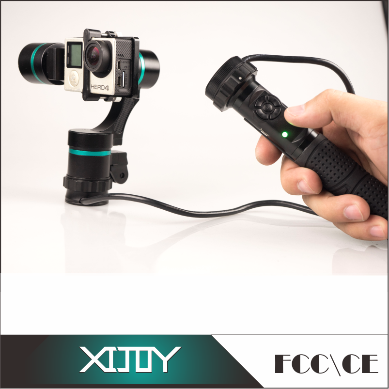 3 axis handheld gimbal for action camera and gopros,gopros dog camera