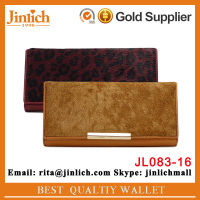 China wholesale market new design women wallets stylish genuine leather handbag