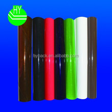 plastic pvc packaging material with different colour