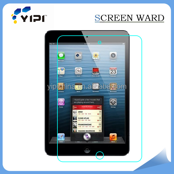 Manufacture supply screen protector tempered glass screen for ipad mini