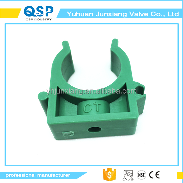 25mm Dia PPR Water Supply Pipe Clamps Snap in Clips Fitting