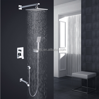 Contemporary style hot selling in European suit for bathroom surface mounted shower faucet